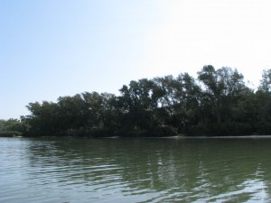 Fort De Soto Campground from the water