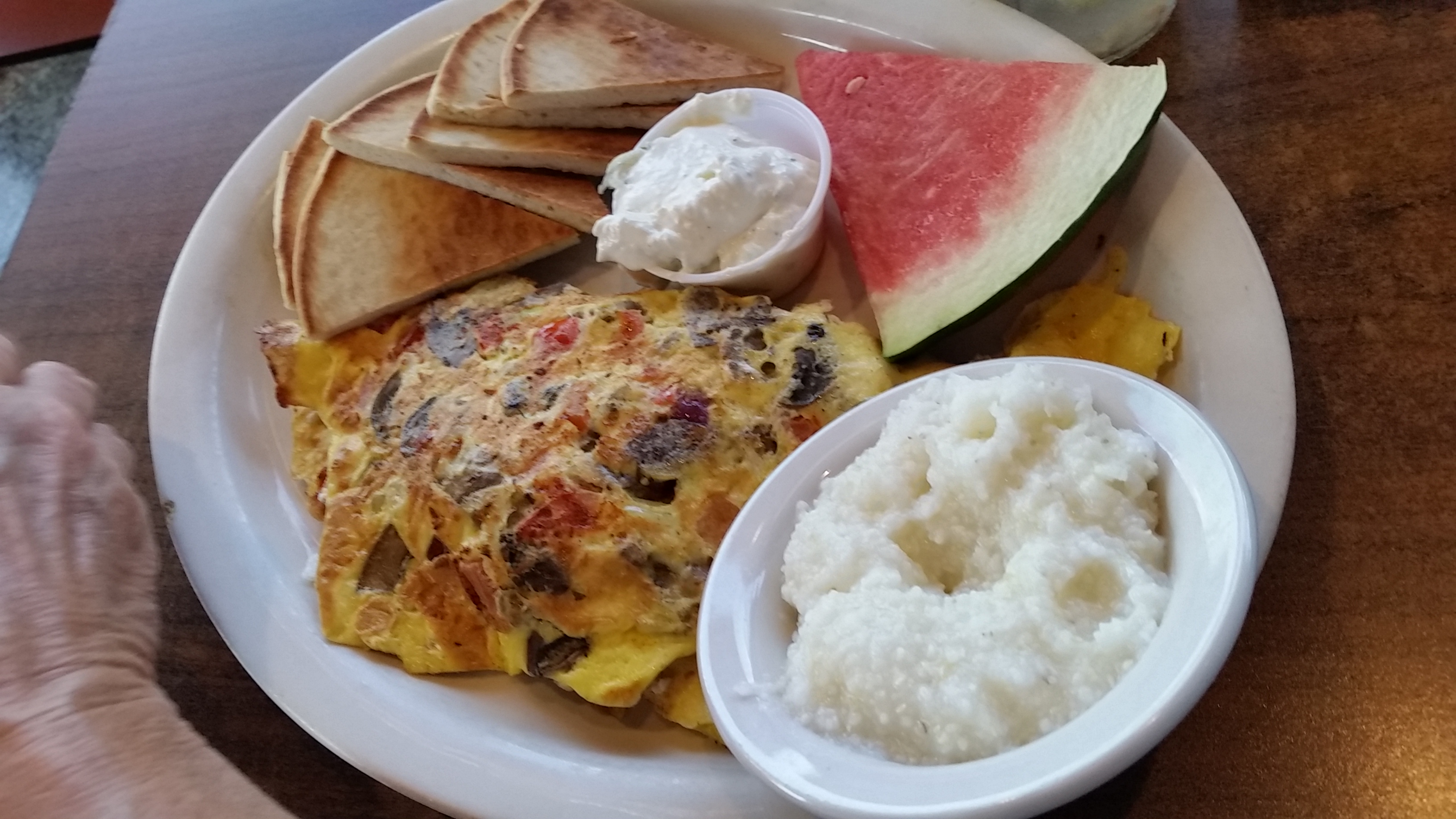 Super Greek Omelet