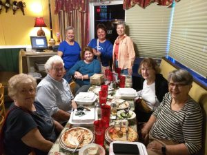 The Adventurous Woman dine at the Pizza Shack in Largo