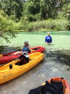 Kayaking on the Weeki Wachee