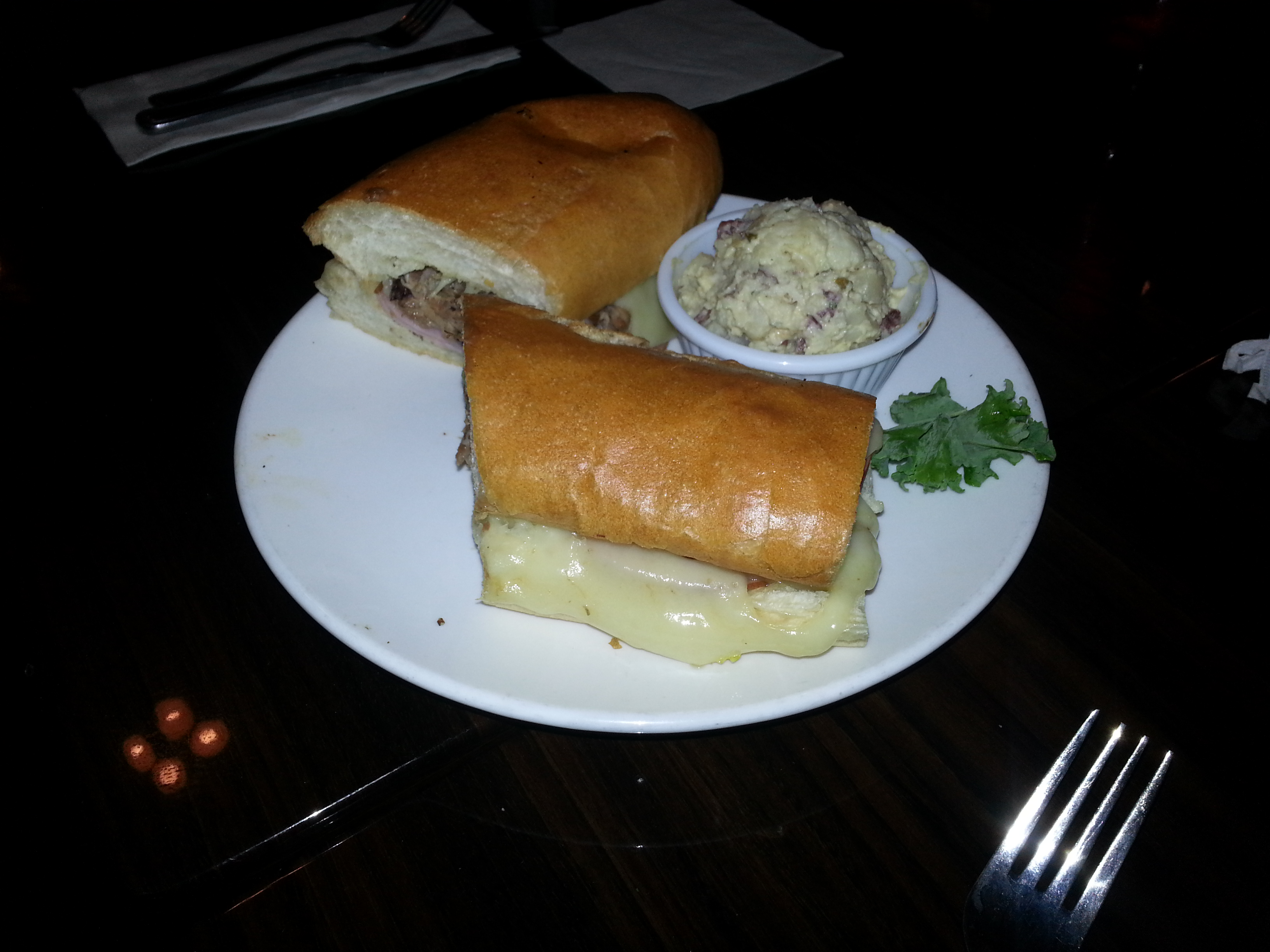 Philly cheesesteak? Po Boy at Ricky P's