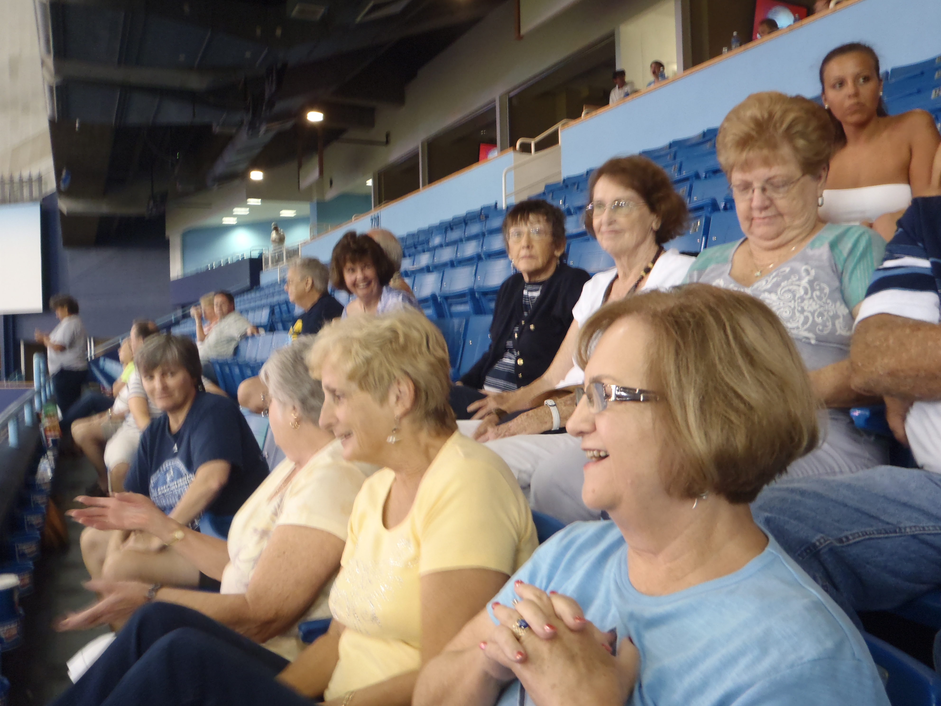 The Adventurous Woman at the Rays game