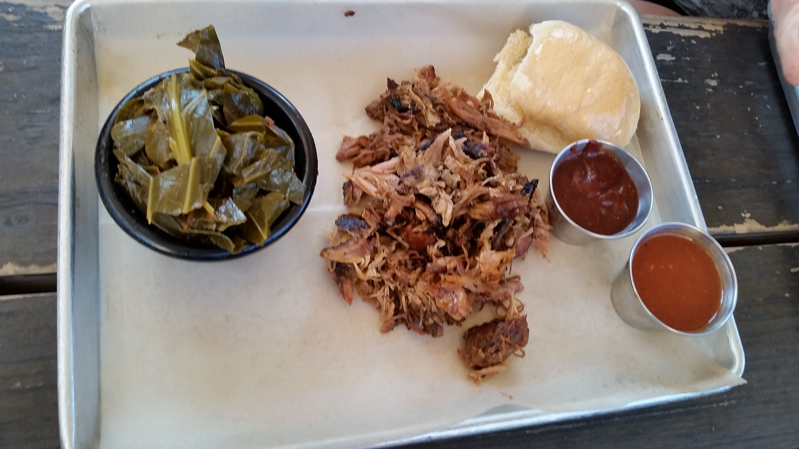Collard Greens and Pulled Pork